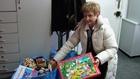 Zabawki dla dzieci leżących w szpitalu w Prokocimiu