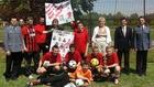 """Turniej piłki nożnej w ramach programu profilaktyczno – edukacyjnego """"Kibic - Euro 2012"""
