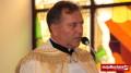 Ks. Tadeusz Mróz podczas poświęcenia pierwszego w diecezji tarnowskiej kościoła pw. bł. Jana Pawła II