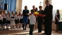 Ślubowanie uczniów klas pierwszych w PSP nr 5, 5.10.2011