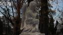Figura na cmentarzu przy ul. Orackiej