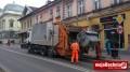 Odbiór śmieci na terenie Bochni