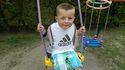 Szymon ma 5 lat i jest chory na ciężki nowotwór