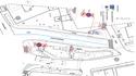 Plac Pulaskiego - schemat oznakowania