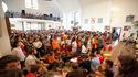 ŚDM: Hiszpańscy pielgrzymi w Gierczycach, 29 VII 2016