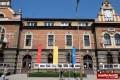 """ŚDM: Wystawa """"Miejsca, ludzie i wydarzenia"""" przed starostwem"""