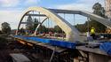 Budowa nowego mostu w Trzcianie, 30 IX 2016