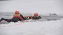 """Szkolenie """"Ratowanie życia na lodzie"""" w Drwini, 21 I 2017"""