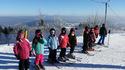 Dzieci z gm. Drwinia trenowały jazdę na nartach