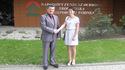 Podpisanie umowy o dofinansowanie budowy kanalizacji na terenie gminy Drwinia, 1 VI 2017